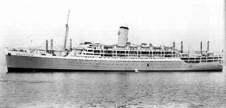 Orient Line's SS Orcades